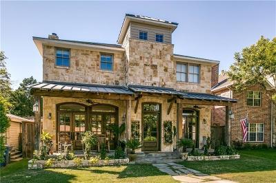 Dallas TX Single Family Home For Sale: $849,000