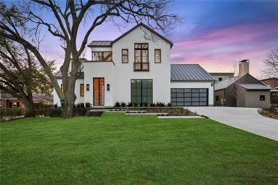 Dallas Single Family Home For Sale: 8819 Lakemont Drive