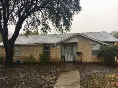 Garland Single Family Home For Sale: 3105 Robin Hill Lane