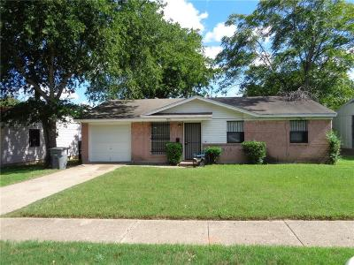 Dallas Single Family Home For Sale: 3926 Mehalia Drive