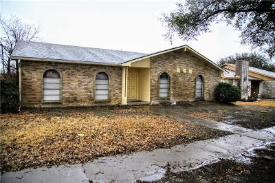Carrollton Single Family Home For Sale: 1901 White Rose Lane