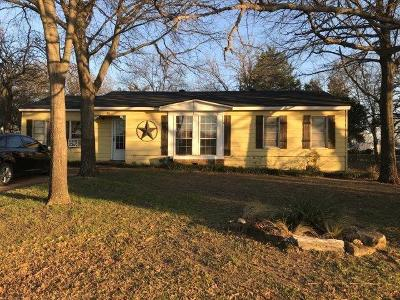 Seagoville Single Family Home Active Contingent: 301 W Simonds Road