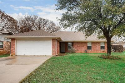 Euless Single Family Home Active Option Contract: 209 Westwood Drive