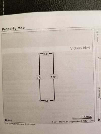 Dallas Single Family Home For Sale: 5534 Vickery Boulevard
