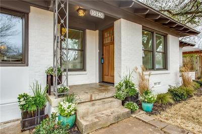 Dallas Single Family Home For Sale: 10340 Estacado Drive