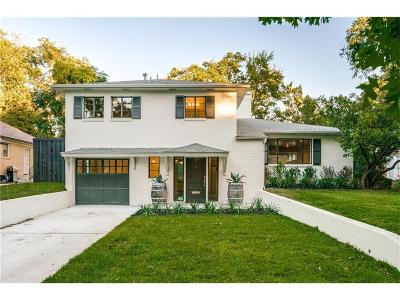 Dallas Single Family Home For Sale: 6308 Bryan Parkway