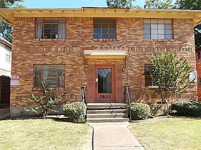 Dallas Multi Family Home For Sale: 5833 Oram Street