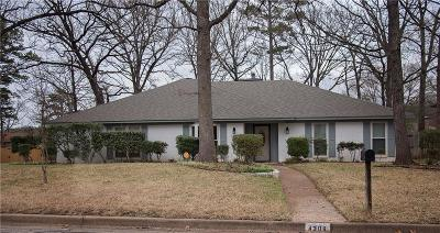 Tyler Single Family Home For Sale: 4308 Heather Lane