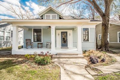 Dallas Single Family Home For Sale: 5626 Worth Street