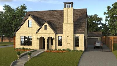 Dallas Single Family Home For Sale: 5623 Morningside Avenue