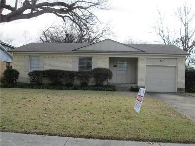 Richardson  Residential Lease For Lease: 421 Marilu Street