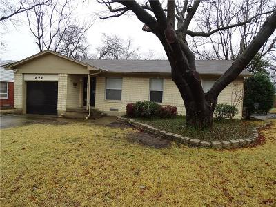 Richardson  Residential Lease For Lease: 426 Marilu Street