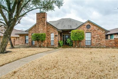 Richardson Single Family Home For Sale: 1812 Campbell Trail