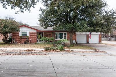 North Richland Hills Single Family Home For Sale: 6700 Tabor Street
