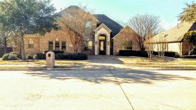 Flower Mound Single Family Home For Sale: 3705 Sonoma Bend