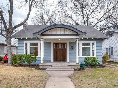 Dallas Single Family Home For Sale: 626 N Windomere Avenue