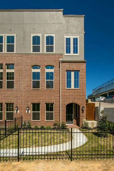 Dallas Townhouse For Sale: 1393 Arch Place