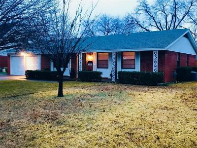 North Richland Hills Single Family Home Active Option Contract: 5400 Roberta Drive