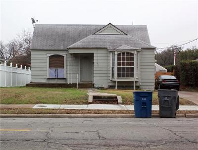 Dallas Single Family Home For Sale: 4314 Capitol Avenue