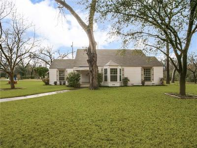 Dallas Single Family Home Active Option Contract: 1907 Kessler Parkway