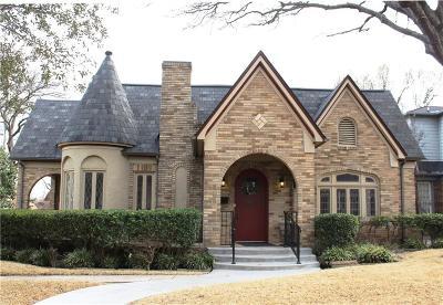 Dallas Single Family Home For Sale: 5442 Morningside Avenue