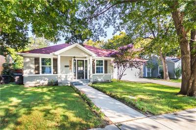 Fort Worth Single Family Home For Sale: 3782 Winfield Avenue