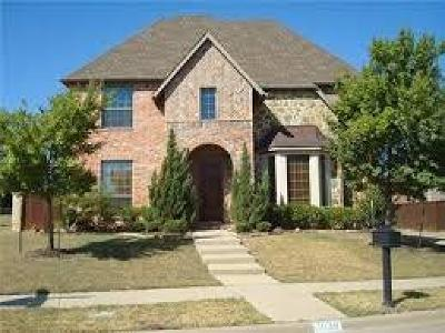 Allen Single Family Home For Sale: 2139 McCallum Drive