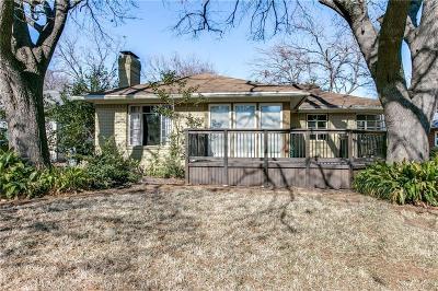 Dallas Single Family Home For Sale: 6235 Kenwood Avenue