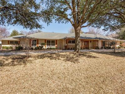 Dallas Single Family Home For Sale: 3815 Duchess Trail