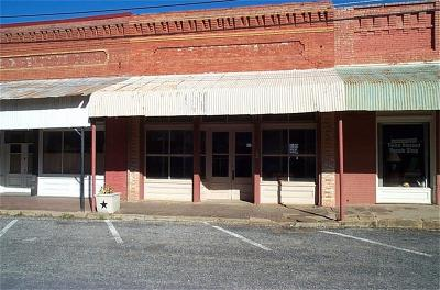 Palo Pinto County Commercial For Sale: 109 S Main Street