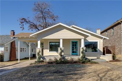 Fort Worth Single Family Home For Sale: 1704 Clover Lane