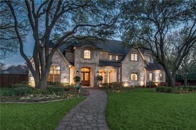 Dallas TX Single Family Home For Sale: $2,200,000