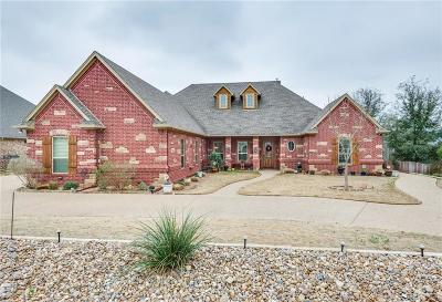 Granbury Single Family Home Active Kick Out: 9310 Ravenswood Road