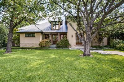 Dallas, Highland Park, University Park Single Family Home For Sale: 3504 Lexington Avenue