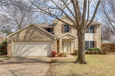 Bedford Single Family Home Active Contingent: 2904 Golden Rod Court