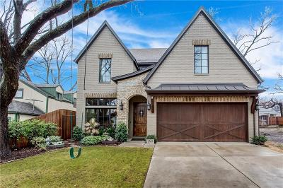 Fort Worth Single Family Home Active Option Contract: 3563 W 4th Street