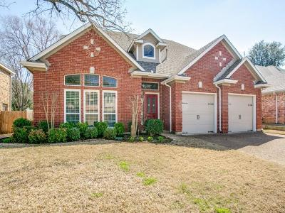 Bedford Single Family Home Active Option Contract: 3545 Paint Brush Lane