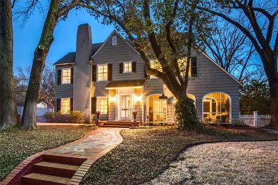 Highland Park Single Family Home Active Option Contract: 3501 Drexel Drive