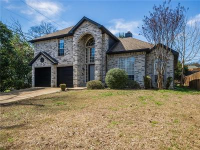 Rockwall Single Family Home Active Option Contract: 201 Valley Drive