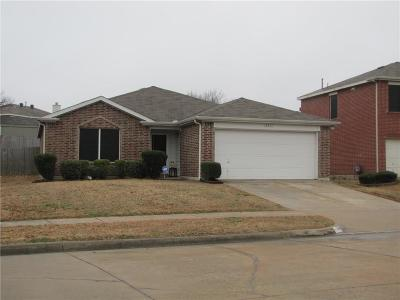 Seagoville Single Family Home Active Option Contract: 2917 Post Oak Drive