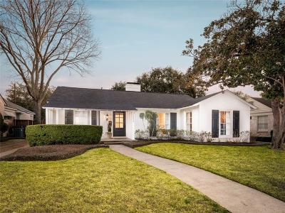 Highland Park Single Family Home For Sale: 4629 S Versailles Avenue