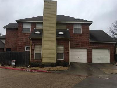 Arlington TX Townhouse For Sale: $149,900