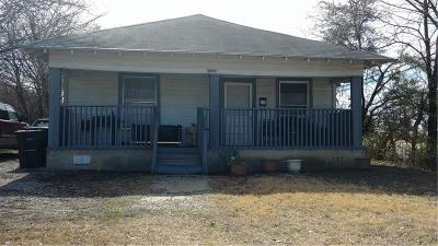 Fort Worth Single Family Home Active Option Contract: 3000 Avenue C