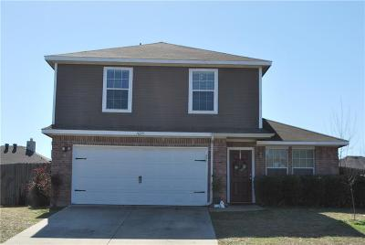Seagoville Single Family Home Active Contingent: 1625 Emily Lane