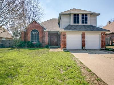 Grand Prairie TX Single Family Home For Sale: $255,000