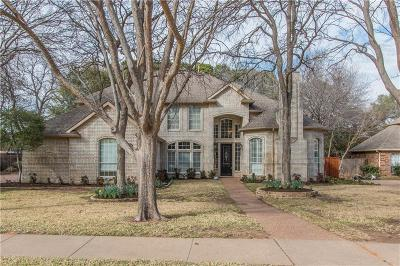 Flower Mound Single Family Home Active Option Contract: 3308 Pecan Park Drive