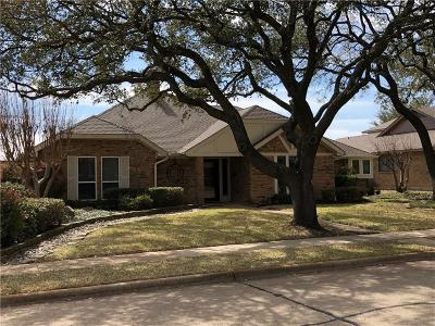 Richardson Single Family Home Active Option Contract: 1209 Grassmere Drive