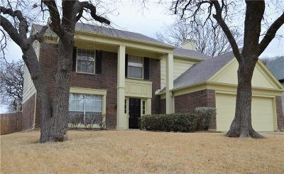 North Richland Hills Single Family Home Active Option Contract: 6729 Parkwood Drive