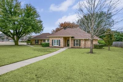 Keller Single Family Home Active Option Contract: 1410 Summer Dell Court