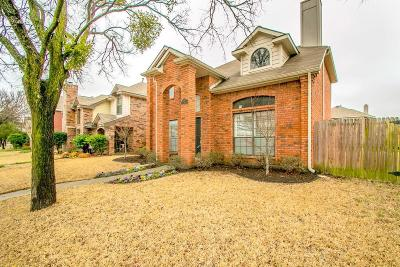 Coppell Single Family Home Active Option Contract: 357 Parkway Boulevard
